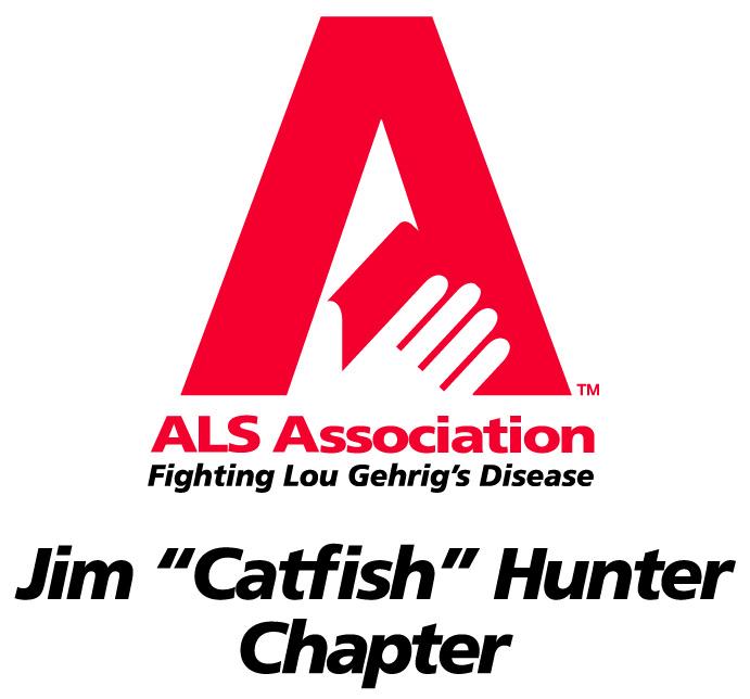 "ALS Association Logo - Jim ""Catfish"" Hunter Chapter"